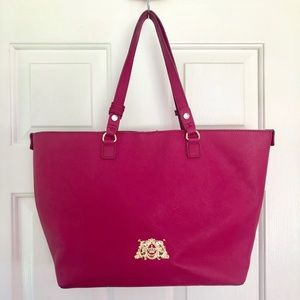 Large Leather Juicy Couture Tote